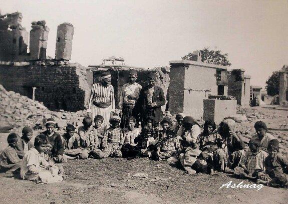 выжившие после погромов в Киликии
