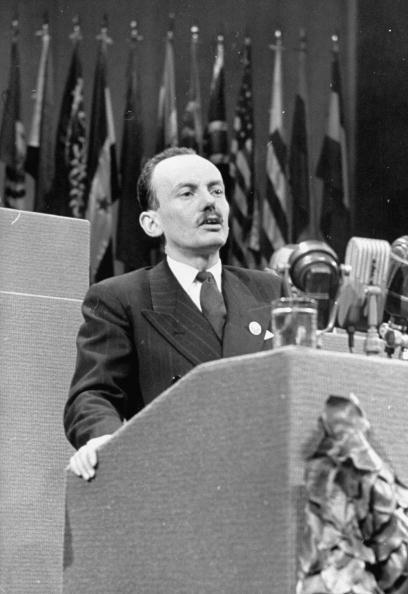 Камарго выступает на конференции ООН