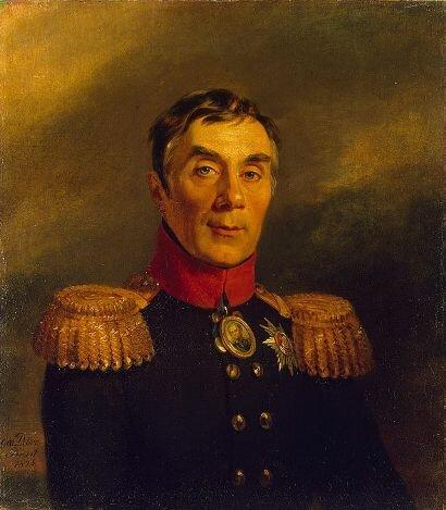 Худ. Д. Доу. Портрет графа А. А. Аракчеева