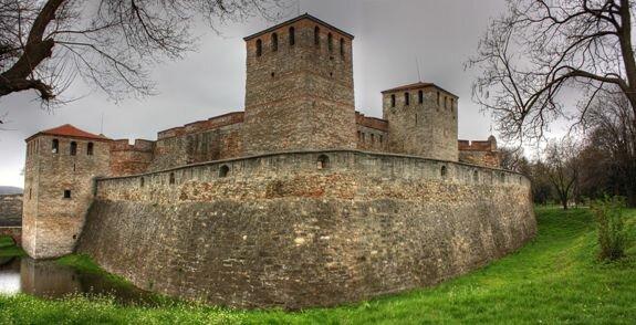 Средневековая крепость Баба Вида в Видине, Болгария. Построена в Х в.