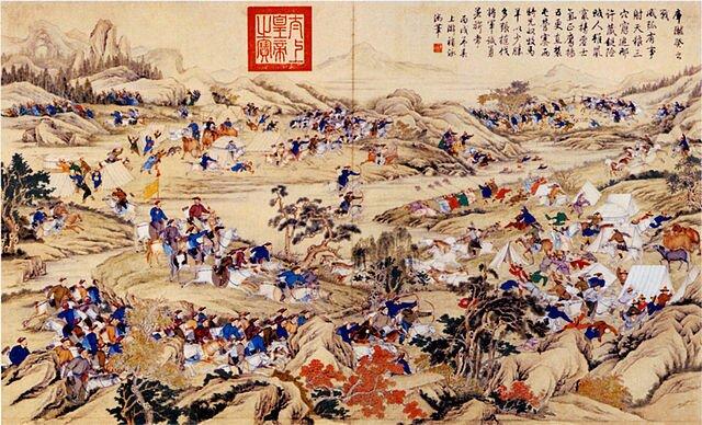Сражение Амурсаны с маньчжурами (1758)