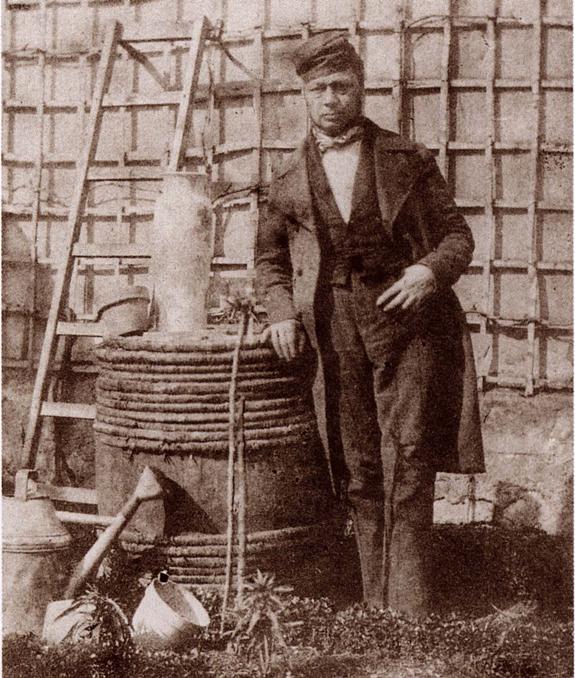 И. Байа. Автопортрет. Ок. 1847 г. Французское общество фотографии. Париж