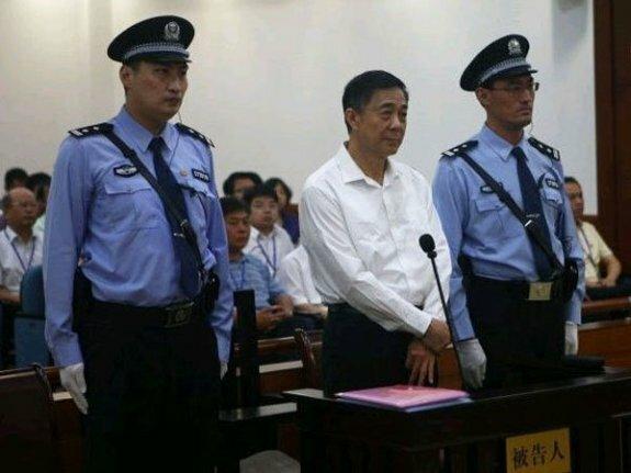 Бо Силай в суде. Фото: 2013 г.