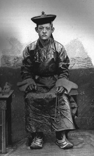 Богдо-гэгэн VIII (1869—1924) в молодости