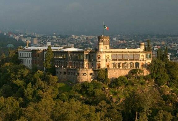 Чапультепекский дворец. Мехико, Мексика