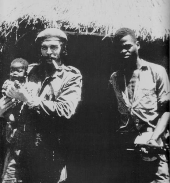 Че Гевара в Конго