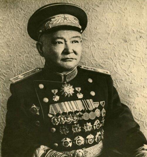 Хорлогийн Чойбалсан. Фото ок. 1950 г.