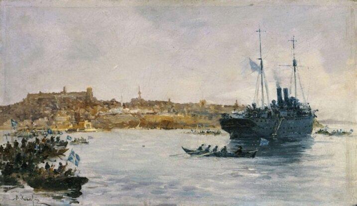 десант греческого флота