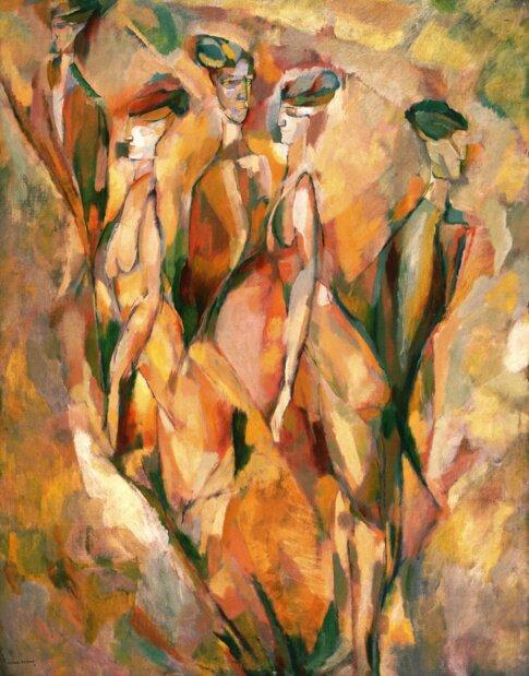 Марсель Дюшан. Дульсинея, 1911 г.