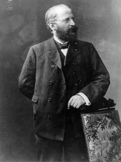 Эдуард Бернштейн. Фото 1895 г.