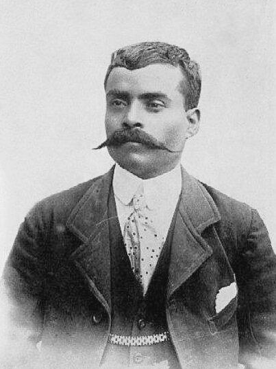 Эмилиано Сапата. Фото: 1914 г.