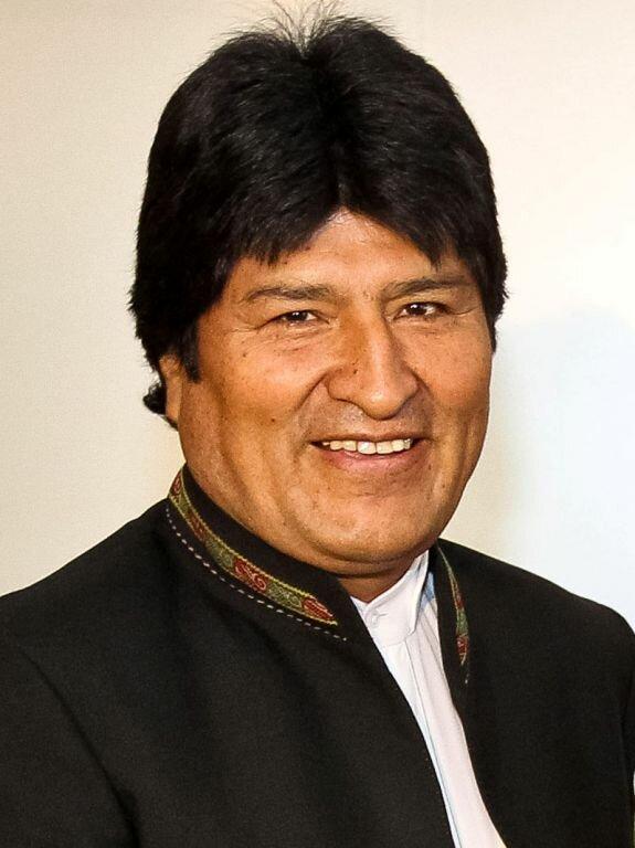 Эво Моралес. Фото: 2011 г.