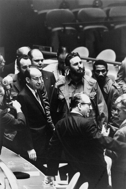Фидель Кастро на ассамблее ООН