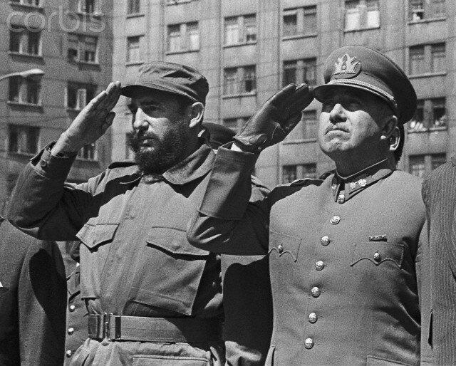 Кастро и Пиночет