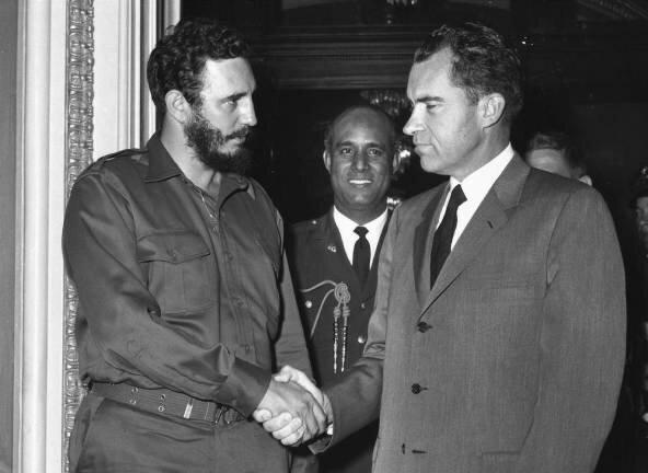 Кастро и Никсон