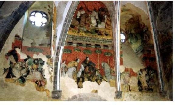 фрески в Сен-Флоре