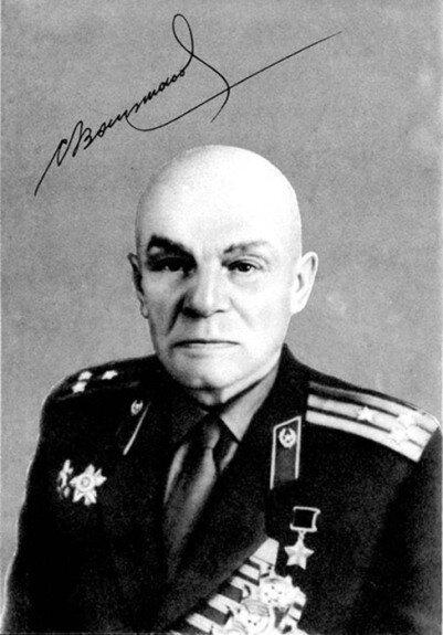 Генерал С. Ваупшасов. Фото 1960-е гг.