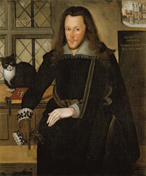 Генри Ризли, 3-й граф Саутгемптон во время заключения в Тауэре, худ. Джон де Критц, 1603. Ботон-хаус, Нортгемптотшир, Великобритания