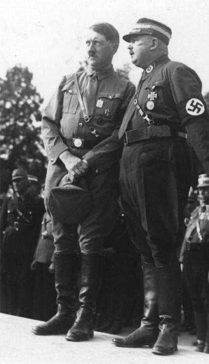Гитлер и Рем