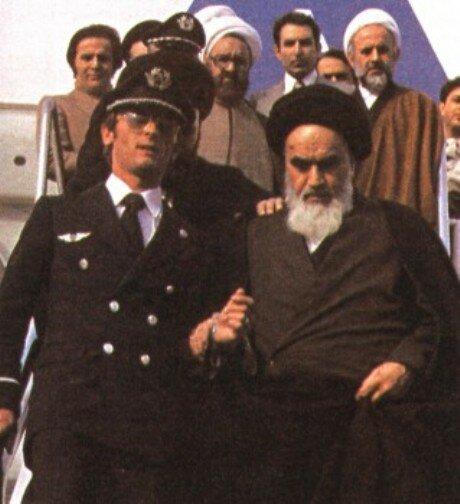 возвращение Хомейни из ссылки