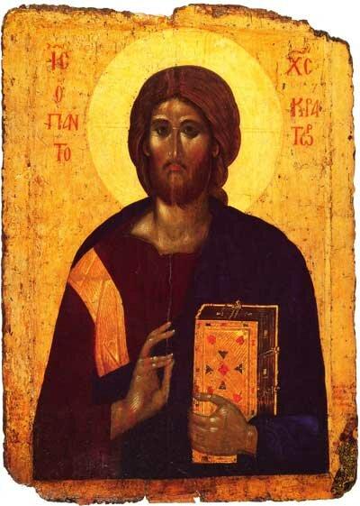 Вседержитель (Пантократор), ок. 1363 г. Государственный Эрмитаж, Санкт-Петербург