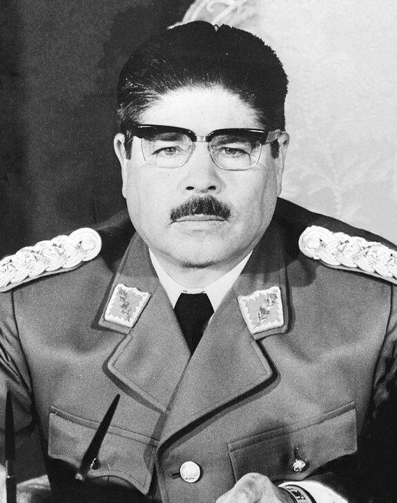 Хуан Хосе Торрес Гонсалес. Фото: 1971 г.