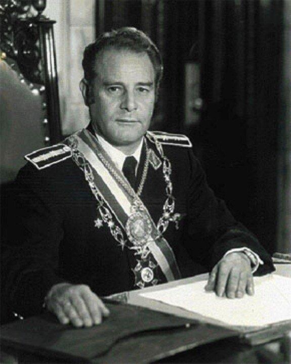Хуан Переда Асбун. Фото: 1978 г.