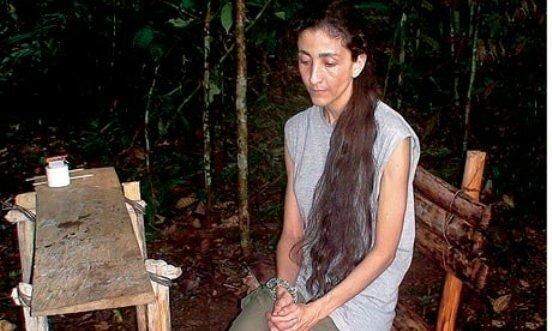 Ингрид Бетанкур в плену