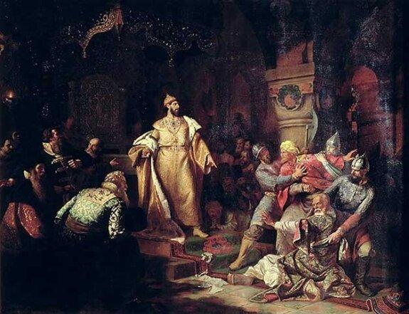 Иван Третий свергает татарское иго