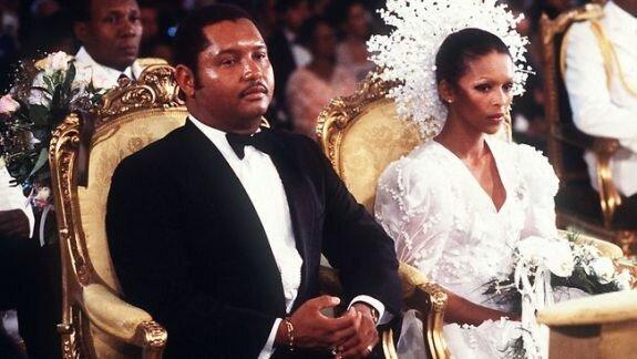 Бракосочетание Жан-Клода Дювалье и Мишель Беннет, Гаити. Фото: 25 мая, 1980 г.