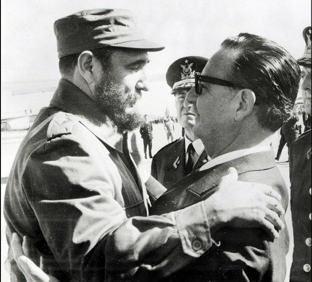 Кастро и Альенде