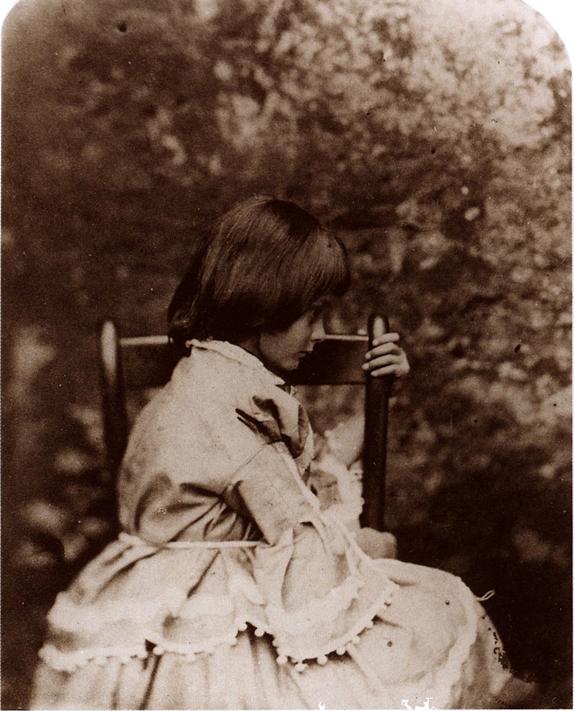 Льюис Кэрролл. Портрет Алисы Лиддел. Ок. 1860 г. Собрание Пэрриш. Библиотека Принстонскоro университета