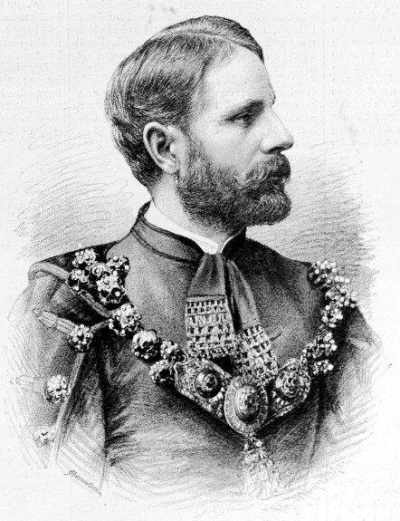 К. Куэна-Хедервари. Гравюра 1894 г.