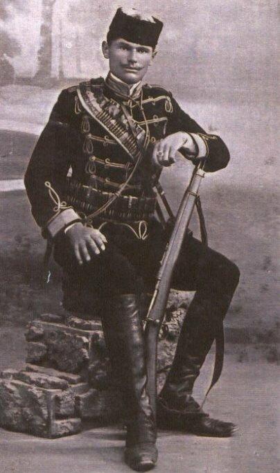 Коста Печанац. Фото: 1908 г.
