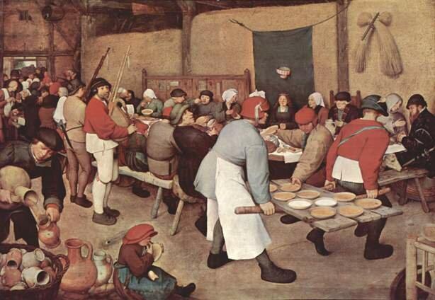крестьянская свадьба Брейгель
