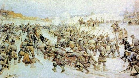 Битва Болотникова с царской армией