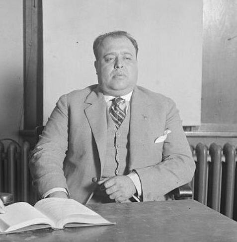 Луис Моронес. Фото: 1925 г.