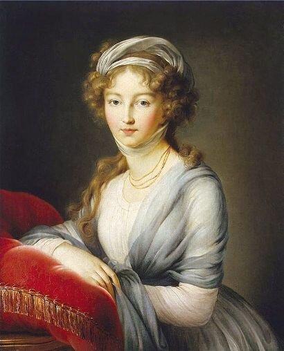 Императрица Елизавета Алексеевна. Худ. Виже ле Бра, 1795 г., Замок Вольфсгартен, Германия