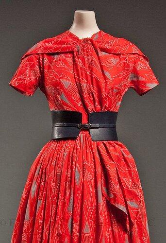 К. Маккарделл. Платье из коллекции 1952 г.