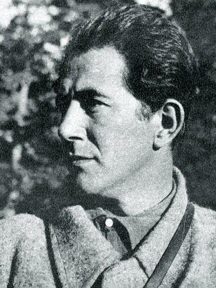 Милан Джилас. Фото: 1942 г.