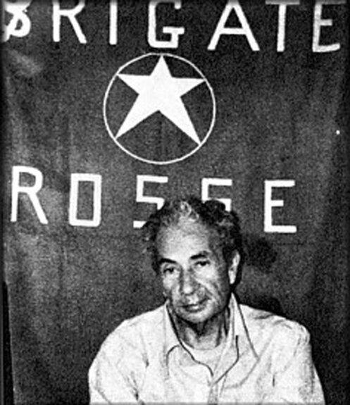 Альдо Моро в плену у «Красных бригад». Март 1978 г.