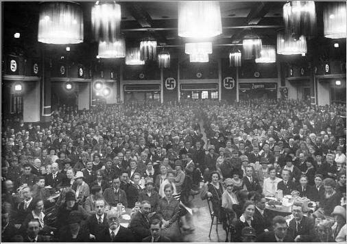 Собрание НСДАП в Бургербрау, Мюнхен