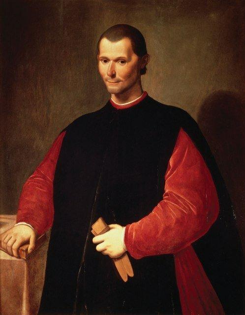 Худ. ли Санти ди Титто Портрет Никколо Макиавелли, Палаццо Веккьо, Флоренция, Италия