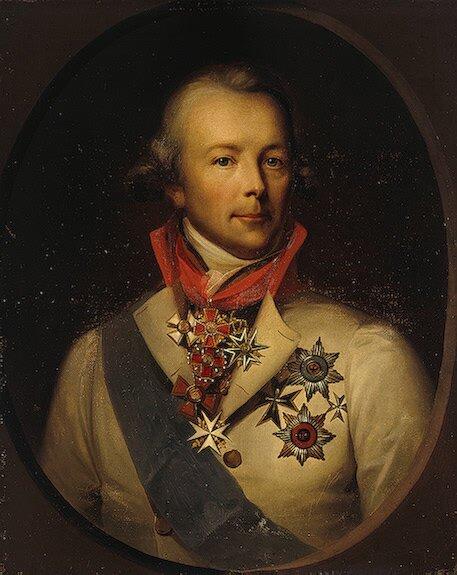 П. Пален, военный губернатор Петербурга, участник заговора против Павла I