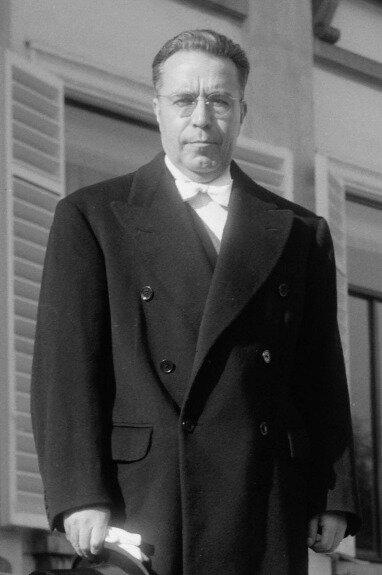 Виктор Пас Эстенссоро. Фото: 1958 г.