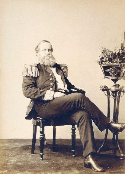 Педру II. Фото: 1870 г.