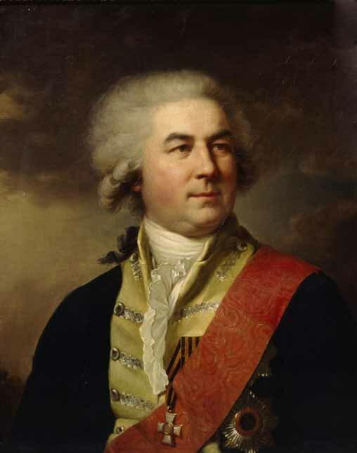 П. В. Завадовский. Худ. И. Б. Лампи. 1795 г.