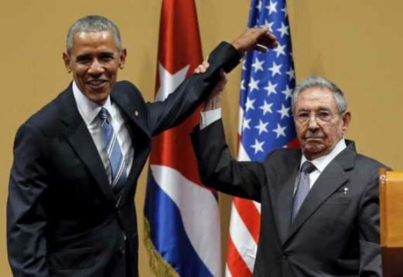Рауль Кастро и Барак Обама. Фото: март 2016 г.