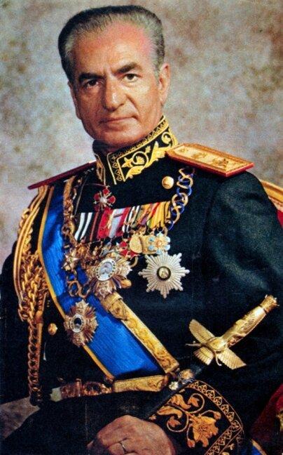 Шах Мохаммед Реза Пехлеви. Фото 1970-х годов