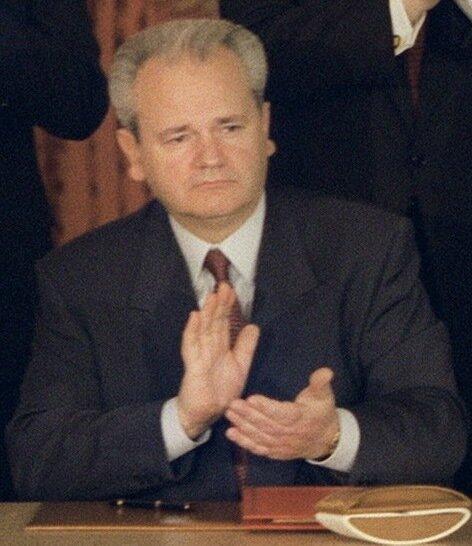 Слободан Милошевич. Фото: 1995 г.